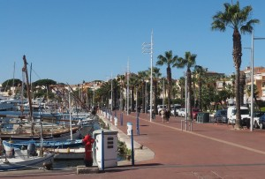 Waterfront of Bandol